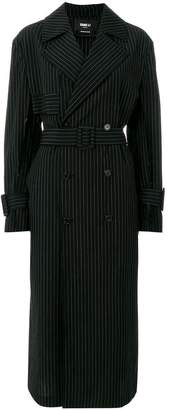 Yang Li striped trench coat