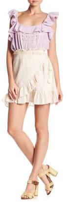Love Sam Midsummer Wrap Miniskirt