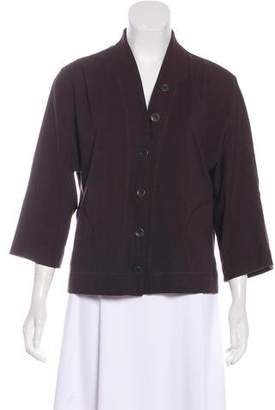 Eileen Fisher Button-Up Cardigan