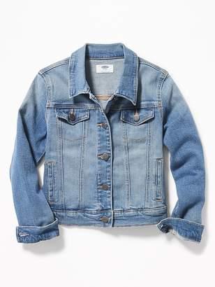 Old Navy Medium-Wash Denim Jacket for Girls