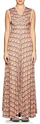 "Chloé Women's ""Owl Eye""-Print Maxi Dress - Pink, Org"