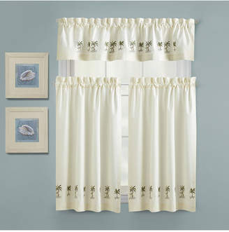 "Croscill Palm Tree 60"" x 12"" Insert Kitchen Valance"
