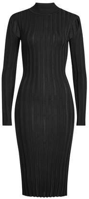 McQ Knit Dress with Turtleneck