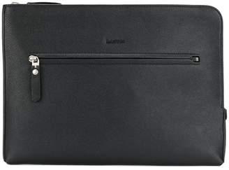 Lanvin logo-embossed clutch bag