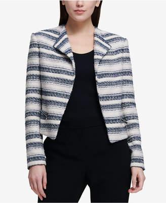 DKNY Tweed Moto Jacket, Created for Macy's