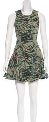 Antipodium Jacquard Mini Dress