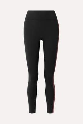 All Access - Set List Striped Stretch Leggings - Black