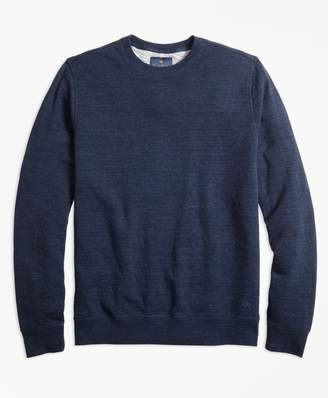 Brooks Brothers Garment-Washed Crewneck Sweatshirt