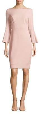 Vince Camuto Bell-Sleeve Sheath Dress