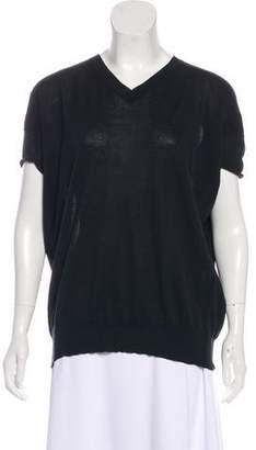 Marni Short Sleeve Knit Top