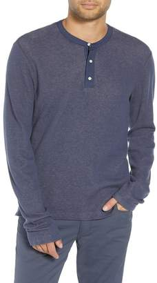 Vince Slim Fit Thermal Henley