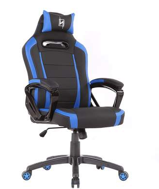 N. Seat Pro 300 Series NS-PRO300_BL Gaming Chair with Pillows, 360 Degrees of Rotation