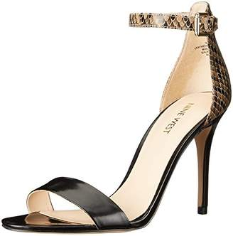 Nine West Women's Mana Leather Dress Sandal