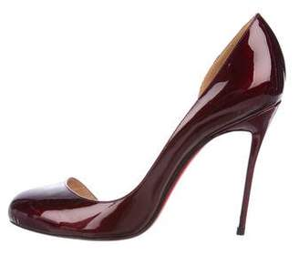 Christian Louboutin Patent Leather d'Orsay Pumps