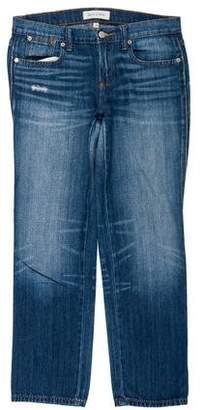 Henry & Belle Aidan Mid-Rise Straight-Leg Jeans