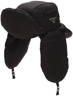 Prada Padded Nylon Trapper Hat