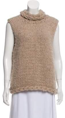 Smythe Alpaca Sleeveless Sweater