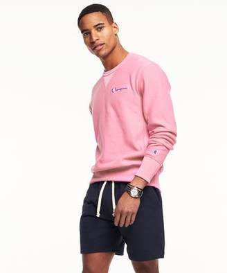 Todd Snyder + Champion Reverse Weave Retro Bright Sweatshirt In Pink