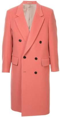 Cerruti longline doublebreasted coat