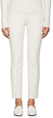 The Row Women's Cosso Cotton-Blend Crop Skinny Pants - Ivory