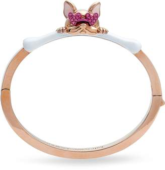 Kate Spade Francois French Bulldog Hinge Bangle