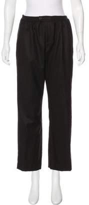 eskandar Wool High-Rise Pants