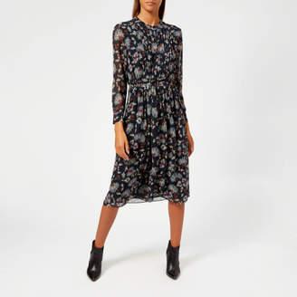 Whistles Women s Pitti Print Midi Shirt Dress 27fe5751a