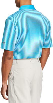 Callaway Men's Striped Color Polo Shirt