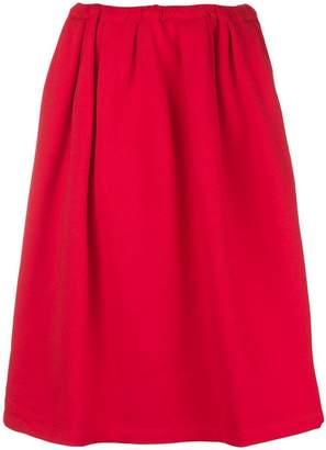 Marni A-line midi skirt