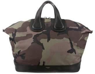 Givenchy Large Camouflage Nightingale Bag green Large Camouflage Nightingale Bag