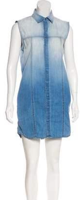 Hudson Sleeveless Mini Dress w/ Tags