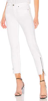 GRLFRND Kendall High-Rise Zipper Jean.