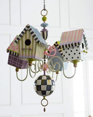 MacKenzie-Childs Birdhouse Chandelier