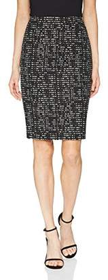 Nine West Women's Jacquard Slim Skirt