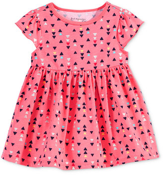 First Impressions Geo-Print Babydoll Tunic, Baby Girls (0-24 months), Only at Macy's $13 thestylecure.com