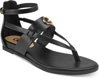 G by Guess Cartur Flat Sandals Women Shoes