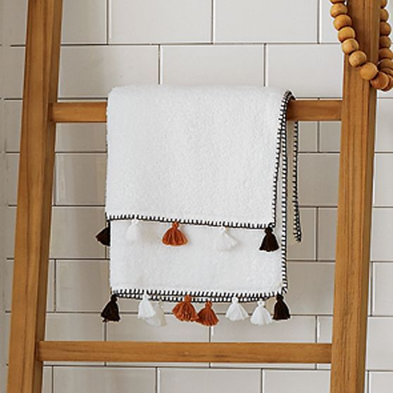 Multicolored Tassel Towel