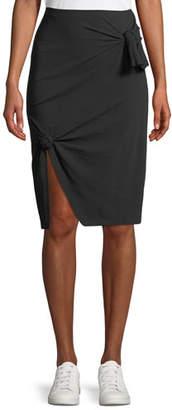 Helmut Lang A-line Knot Skirt