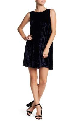 BB Dakota Meyer Velvet Shift Dress