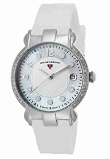Swiss Legend Women's 'Layla' Swiss Quartz Stainless Steel and Silicone Casual Watch