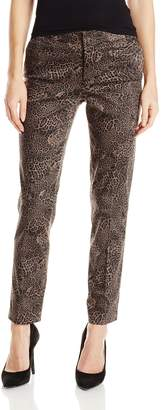 NYDJ Women's Corynna Ankle Jeans In Printed Stretch Sateen
