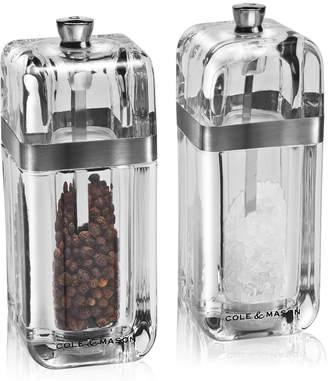 Cole & Mason Kempton Salt & Pepper Grinder Gift Set with Refills