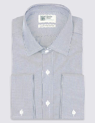 Savile Row InspiredMarks and Spencer Pure Cotton Twill Tailored Fit Shirt