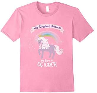 The Sweetest Unicorns Are Born In October T-Shirt