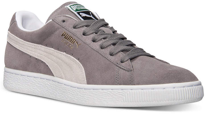 Puma Men's Suede Classic+ Casual Sneakers from Finish Line