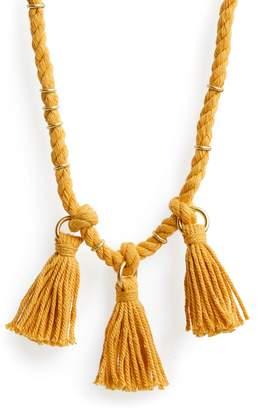 Madewell Rope & Tassel Necklace