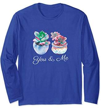 You & Me Succulent Cacti Long Sleeve
