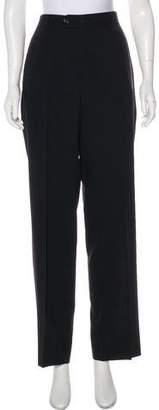 Dolce & Gabbana High-Rise Virgin Wool Pants