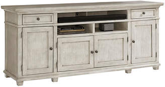 """One Kings Lane Kings Point 76"""" Media Cabinet - Oyster"""