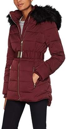 Miss Selfridge Women's Longline Coat,8 (Manufacturer Size:8)
